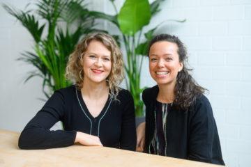 Dr. Ingrid Rupp, und Maren Schlenker vom Institut für Liebe in Heidelberg
