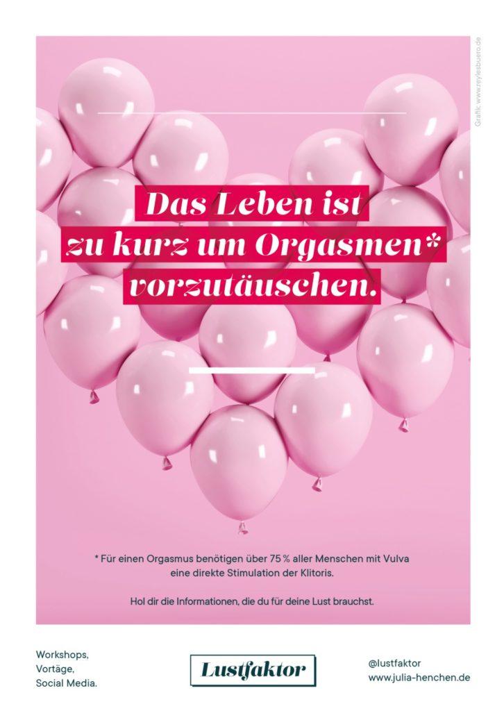 Julia Henchen von Lustfaktor gibt im Institut für Liebe einen workshop
