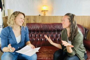 Dr. Ingrid Rupp und Maren Schlenker vom Institut für Liebe