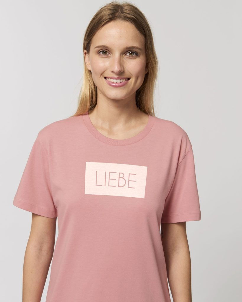 "T-Shirt von Planet Earth First ""Liebe"""