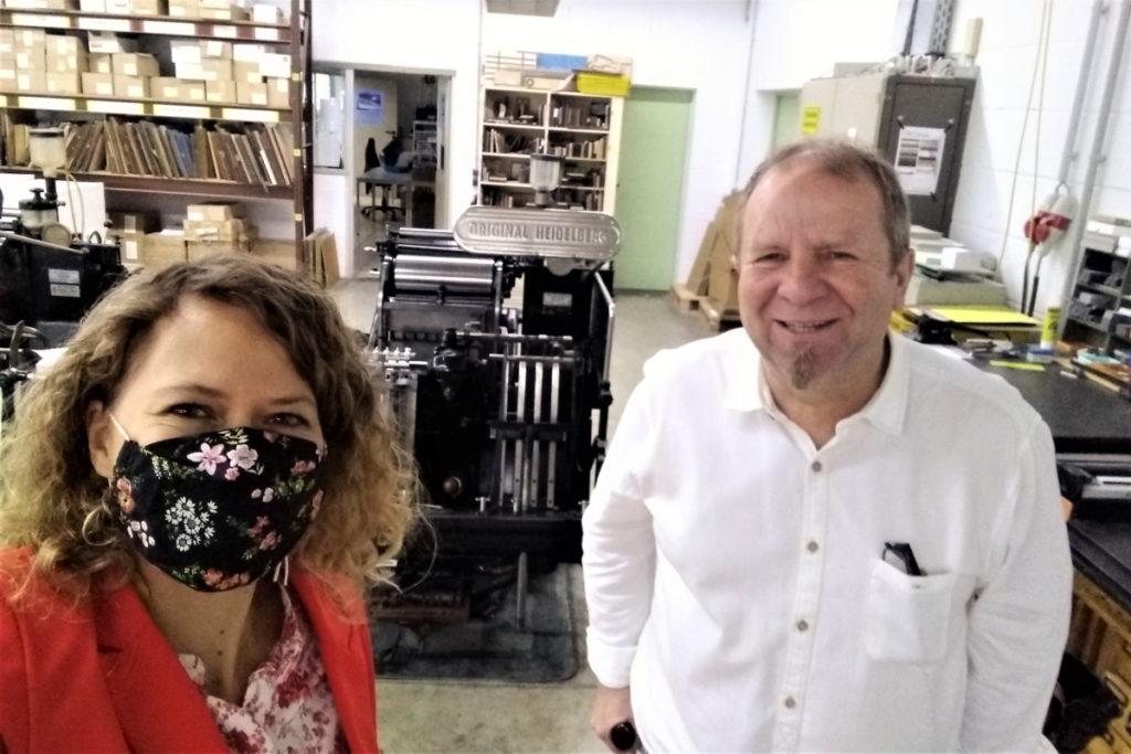 Dr. Ingrid Rupp und Uwe Treiber