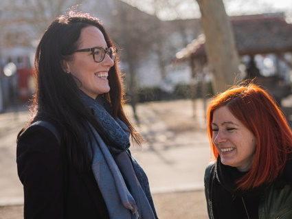 Carola Elisabeth und Tina Reimer