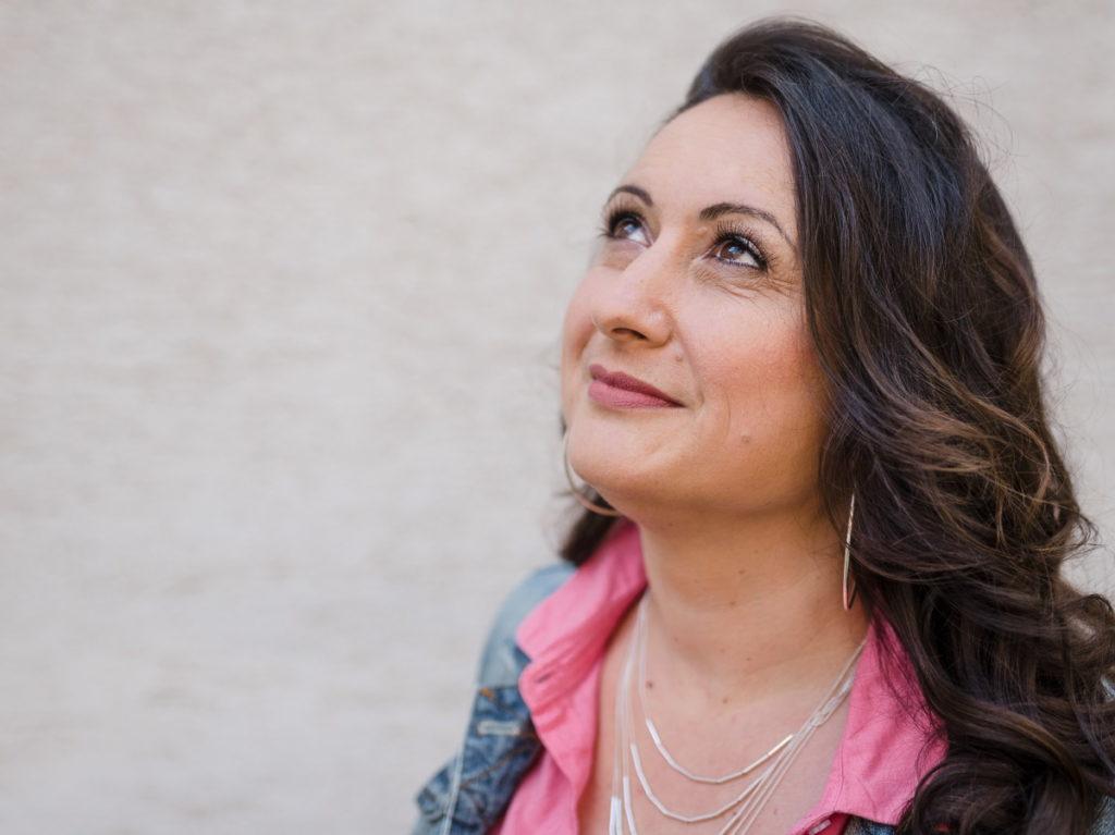 Sängerin Silvie Fazlija